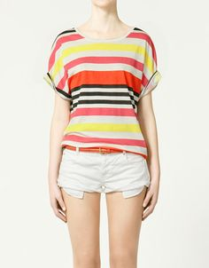 Striped T-Shirt - $5.99 at Zara {seriously, Zara, stop being so cute}