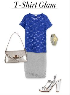 t-shirt glam #instyle