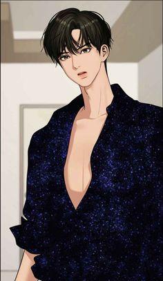 Webtoon The Secret Of Angel Anime Demon Boy, Dark Anime Guys, Cute Anime Guys, Anime Art Girl, Cute Cartoon Wallpapers, Animes Wallpapers, Cute Couples, Anime Couples, Cute Couple Cartoon