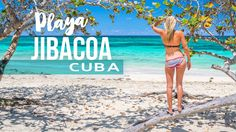 Jibacoa the prettiest beach in Cuba! Playa Jibacoa is only an hour from Havana and rarely visited by tourists. Playa Jibacoa has white sand beaches & diving