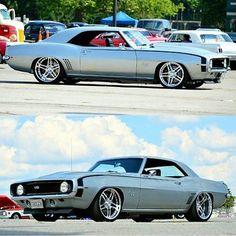Clean 1969 Camaro!! __ Via: @classicscarworld #camaro #chevy #clean #custom #dodgers #hotrod #mlsallstar #muscle #sexy #musclecar #protouring #1stgen #1969 #classic by carcultureofficial