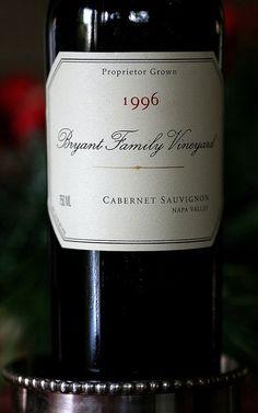 1996 Bryant Family Vineyard Cabernet Sauvignon - Napa Valley, California