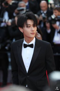 "TAO looking stunning at the Cannes Film Festival Red Carpet "" Chanyeol, Tao Exo, Kris Wu, Qingdao, Cannes Film Festival, Jessi Kpop, Album Digital, K Pop, Rapper"