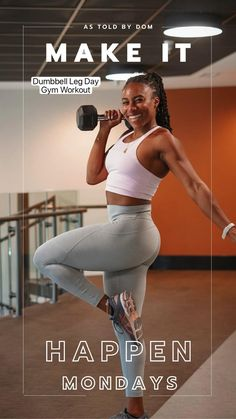 Dumbbell Workout, Workout Videos, Workout Tips, Ab Workout At Home, Women's Fitness, Weight Lifting, Weight Loss, Running Workouts