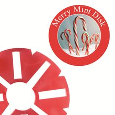 Large Merry Mint Fragrance Disk for LED Holiday Wax-less Warmer Over 70 hours of fragrance by For Every Home and Style.