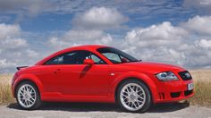 2003 audi tt | 2003 Audi TT Coupe Side Pose In Red Wallpaper
