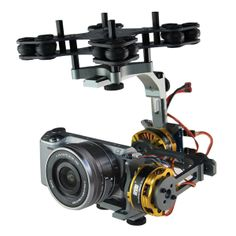 DYS DYS-BGM4108-130T Micro-single-axis Pan Two-axis Brushless Gimbal with Gimbal Brushless Motor Kit | Video | Linkdelight.com