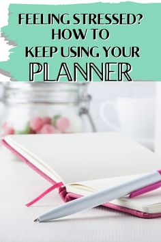 When you're stressed or busy or unmotivated, it's SO easy to drop your planning habit. DON'T! This is when you need it most. Here are some simple ideas that will help you keep planning, even when you're not feeling it. Forgetting Things, Work Productivity, Family Calendar, Organized Mom, Career Planning, Feeling Stressed, Work Life Balance, Working Moms, Getting Things Done