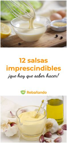 These 12 sauces you have to know how to do! Houston Food, Deli Food, Snacks Saludables, Best Dinner Recipes, Food Truck, Easy Meals, Food Porn, Brunch, Food And Drink
