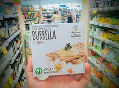 Cerchi un'alternativa al burro da latte vaccino? Da Fattoria della Mandorla è arrivata Burrella, un prodotto innovativo a base di latte di mandorla 100% bio (prodotto con le mandorle pugliesi di Toritto), senza l'aggiunta di grassi idrogenati. #burrella #vegan #naturasi