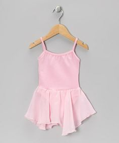 Take a look at this Light Pink Skirted Leotard - Toddler & Girls by AdoraBelle Dancewear on #zulily today!