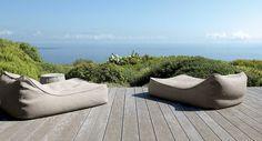 Corail treillis Outdoor Floor Cushion Bean Bag Siège Résistant à L/'Eau Jardin
