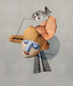 David Hickman - New Work II - Collages
