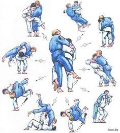 Artes marciales Martial Arts Defensa personal Self defense Judo throws Martial Arts Styles, Martial Arts Techniques, Mixed Martial Arts, Aikido, Kung Fu, Material Arts, Judo Throws, Jiu Jitsu Techniques, Kids Mma