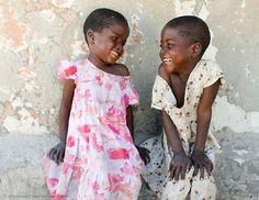"Africa | ""Two girls, Beauty and her younger sister, Belinda"". Zimbabwe | ©World Vision; photographer Leonard Makombe"