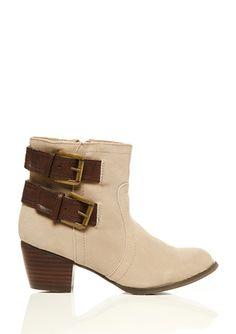 REBELS Tan Diablo boots
