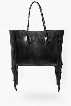 Womens black bag from Mango - £119.99 at ClothingByColour.com