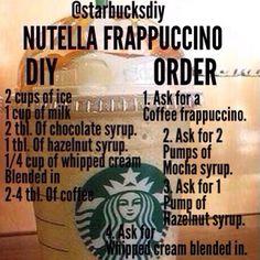 vero on - yellowpick Starbucks Hacks, Starbucks Secret Menu Drinks, Starbucks Coffee, Homemade Starbucks Recipes, Vegan Starbucks, Coffee Frappuccino, Frappuccino Recipe, How To Order Starbucks, Starbucks Recipes