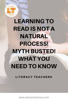 There's a common belief that learning to read is a natural process much like speaking a language. But did you know that's not the case? Reading is not a natu. Reading Practice, Teaching Reading, Learning, Middle School Teachers, High School Students, Reading Strategies, Reading Comprehension, School Levels, Instructional Strategies
