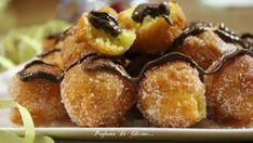 Castagnole alla ricotta e nutella. Oggi propongo la ricetta di undolce tipico di carnevale, lecastagnole con nutella, golose e soffici soffici !