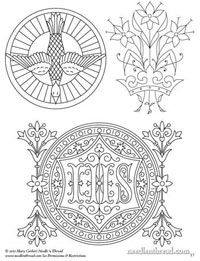 Church Patterns & Designs for Hand Embroidery, Arts & Crafts. 120 printables to download, sent to your e-mail as PDF file: 14.00