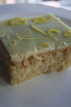 λεμονόπιτα Greek Sweets, Greek Desserts, Party Desserts, Greek Recipes, Sweets Cake, Cupcake Cakes, Cupcakes, Lime Cake, Homemade Cake Recipes