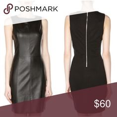 🎉NYE SaLE🎉•Tart• Black Vegan Leather Dress Tart Vegan Black Leather Dress• Size Medium• •Sexy sheath style with flattering seam detail• •Zippered back• Edgy yet ultra comfortable• Excellent condition. Worn once for a party. Perfect NYE dress! 🎉No offers on NYE Sale price! 🎉ask me to create a custom bundle🎉 Tart Dresses Midi