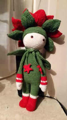 Christmas Star Kris crocheted by Diane E - crochet pattern by Zabbez / Bas den Braver