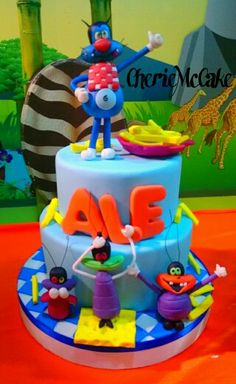 1000 Images About Oggy Cake On Pinterest Cakes Torte