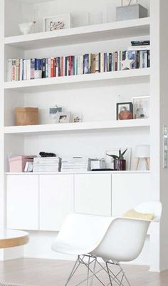 Nieuwsgierig hoe wij ons door deze boekenkast lieten inspireren voor ons Dressoir Anouk? Kijk dan snel op onze nieuwe blog http://100procentkast.nl/blog/inspiratie-voor-je-boekenkast-6-2
