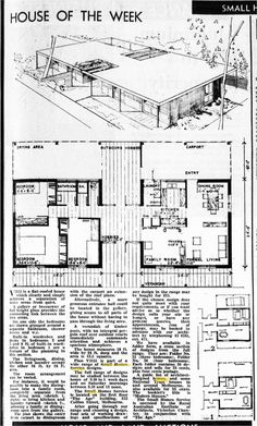 https://flic.kr/p/8K3iu4   V3151   The Age - House of the Week (1967)