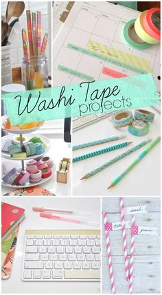 Diy Crafts Ideas : Top Washi Tape Projects