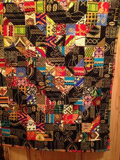 Wall Hanging with African themed prints