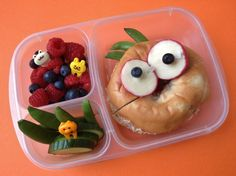 Grace takes her inspiration from Japanese bento boxes. | This Mum Makes The Most Amazing Lunchbox Art For Her Kid Every Day