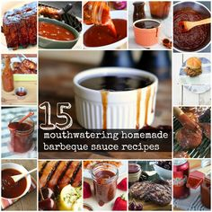 15 mouth watering homemade bbq sauce recipes
