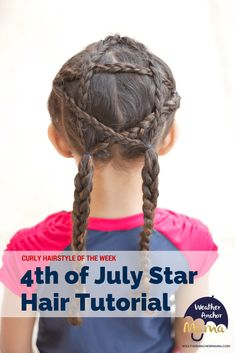 <img> <img> Mixed hair care tips. Curly Hairstyle of the Week: of July Star on curly Biracial Hair. Mixed Kids Hairstyles, Holiday Hairstyles, Easy Hairstyles, Curly Hair Styles, Natural Hair Styles, Hair Dos For Kids, Mixed Hair Care, Biracial Hair, Star Hair