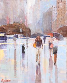Painter Irina Alexandrina, NYC6