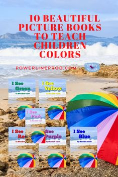 10 Beautiful Picture Books to Teach Children Colors – Powerline Productions --Meredith Curtis Learning Time, Learning Styles, Healthy Children, Special Needs Students, Charlotte Mason, Unit Studies, Family Night, I Love Reading, Preschool Kindergarten
