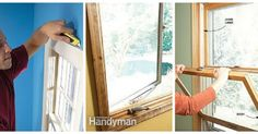 Window Repair: Learn to fix all the problems with your windows with these window repair articles and tips. Read more: http://www.familyhandyman.com/windows/repair