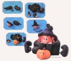 Polymer Clay Witch Tutorial