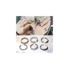 Open Ring (Various Designs) ($4.66) ❤ liked on Polyvore featuring jewelry, rings, accessories, snake jewelry, adjustable rings and snake ring