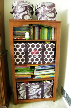 Hide the mess on your shelves with the Large Utility Tote.
