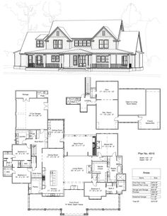 Future Home! Love this layout with a few tweeks of course! Would move the laundry to a more central location, but love! Sims House Plans, Barn House Plans, Craftsman House Plans, Country House Plans, Dream House Plans, Home Room Design, Dream Home Design, My Dream Home, House Design