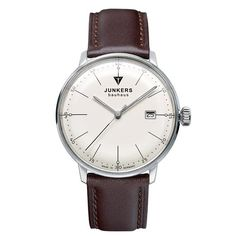 The Junkers Bauhaus Watch is made in Germany and features a stainless steel  case b1f86e8355
