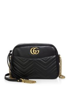 Gucci - GG 2.0 Mini Quilted Leather Camera Bag