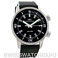 IWC Vintage Aquatimer Automatic Men's Watch IW3231   IWC is a collector friendly watch company, keeping detailed records of every watch to leave their facility since 1885. IWC prides itself on technical invention and innovation. The design and engineering produced by IWC in the east of Switzerland, while most of their contemporaries reside in the west, is considered a foundation of excellence in Swiss watchmaking.