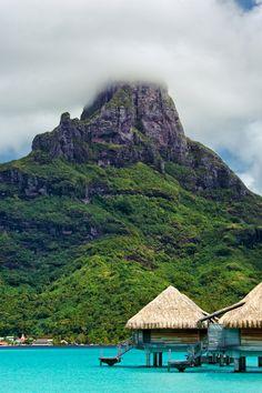 Mt. Otumanu, Bora Bora, Tahiti
