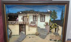 Ahsap rolyef 3d, Pictures, Model, Painting, Decor, Easy Crafts, Recycling, Facades, Photos
