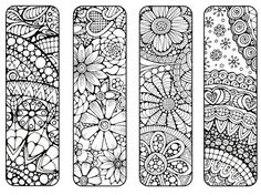 Bookmarks to Print and Color Bookmark by LittleShopTreasures