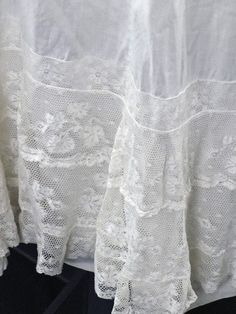 Edwardian Vintage Lawn Cotton French Lace by littlebitvintage2, $40.00